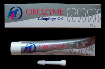 Orozyme Орозим гель для ротовой полости животных (чистки зубов и профилактики заболеваний), 70 г