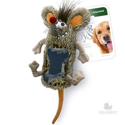 Gigwi Мышь с большой пищалкой 33 см