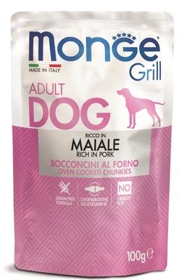 Monge Dog Grill Pouch для собак со свининой 100 г (фото)