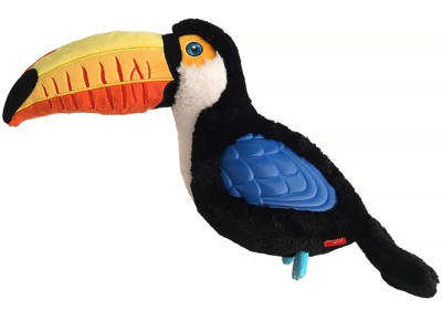 Gigwi игрушка для собак Тукан с пищалкой (большой) 38 см арт.75460