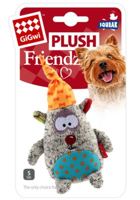Gigwi игрушка для собак Мишка с пищалкой 15.5 см арт.75401