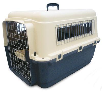 Triol пластиковая переноска для кошек и собак Premium Medium, размер 67,5х51х47 см (фото)