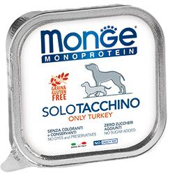 Monge Dog Monoproteino Solo паштет из индейки 150гр. (фото)