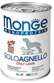 Monge Dog Monoproteino Solo паштет из ягненка 400 г (фото)