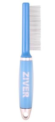 Расческа для животных с гелевой ручкой Ziver, 35 вращающихся зубчиков
