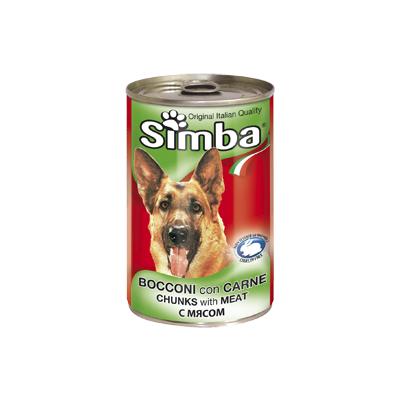 Simba Dog консервы для собак кусочки мяса