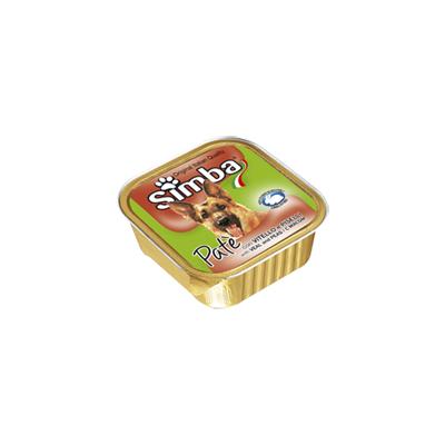 Monge Simba Dog паштет телятина и горох 150 г