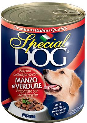Monge Special Dog кусочки говядины с овощами 720 г