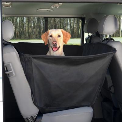 Trixie чехол-гамак на молнии для перевозки собак в автомобиле, с защитой дверей 135*150 см (фото)