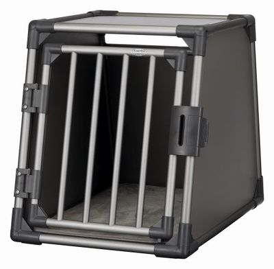 Trixie Транспортный бокс для перевозки собак в автомобиле, алюминиевый каркас с термоподстилкой (фото)