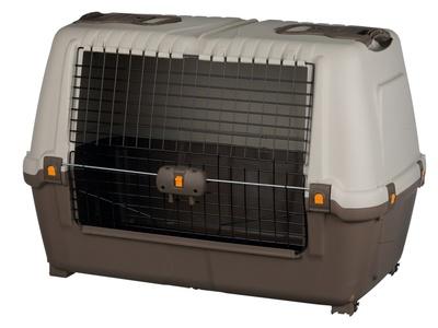 Trixie Skudo Car Транспортный пластиковый бокс для перевозки собак в автомобиле (фото)
