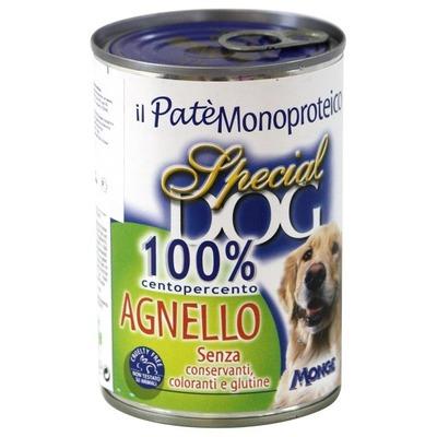 Monge Special Dog паштет из 100% мяса ягненка 400 г