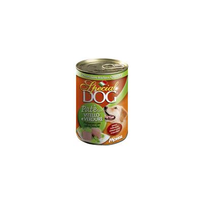 Monge Special Dog паштет телятина с овощами 400 г