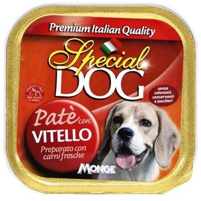 Monge Special Dog паштет телятина 150 г