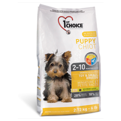 1st Choice для щенков миниатюрных и мелких пород (Puppy Toy&Small Breeds)