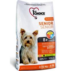 1st Choice Senior для пожилых собак миниатюрных и мелких пород с курицей