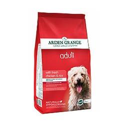 Arden Grange Adult – сухой корм для взрослых собак с курицей и рисом.