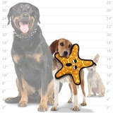 """Tuffy супер прочная игрушка для собак """"Обитатели океана"""" Морская звезда, прочность 9/10, Ocean Creature Starfish"""