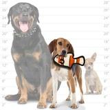 """Tuffy супер прочная игрушка для собак """"Обитатели океана"""" Рыбка, малая, оранжевый, прочность 7/10, Ocean Creature Jr Fish Orange"""