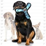 Tuffy супер прочная игрушка для собак Бумеранг, голубой камуфляж, прочность 8/10, Ultimate Bowmerang Camo Blue