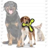 Tuffy супер прочная игрушка для собак Бумеранг малый, желтый, прочность 8/10, Jr Bowmerang Yellow Bone