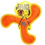 Tuffy супер прочная игрушка для собак Бумеранг, оранжевый с желтым, прочность 9/10, Boomerang Tiger Orange/Yllw