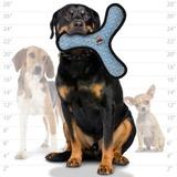 Tuffy супер прочная игрушка для собак Бумеранг, узор решетка, прочность 10/10, Mega Bowmerang Chain Link