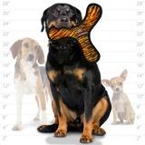 Tuffy супер прочная игрушка для собак Бумеранг, узор тигр, прочность 10/10, Mega Bowmerang Tiger
