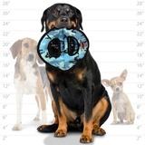 Tuffy супер прочная игрушка для собак Тройное кольцо, голубой камуфляж, прочность 9/10, Ultimate 3WayRing Camo Blue