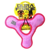 Tuffy супер прочная игрушка для собак Треугольник с круглым отверстием, розовый, прочность 9/10, Triangle Ring Tiger Pink/Pink