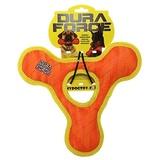 Tuffy супер прочная игрушка для собак Треугольник с круглым отверстием, оранжевый с желтым, прочность 9/10, Triangle Ring Tiger Orange/Yllw