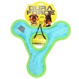 Tuffy супер прочная игрушка для собак Треугольник с круглым отверстием, голубой с зеленым, прочность 9/10, Triangle Ring Tiger Blue/Green