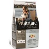 Pronature Holistic Корм для взрослых кошек, для здоровья кожи и шерсти, лосось с рисом