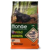 Monge Dog BWild GRAIN FREE Mini беззерновой корм из мяса утки с картофелем для взрослых собак мелких пород Duck & potatoes