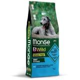 Monge Dog BWild GRAIN FREE беззерновой корм из анчоуса c картофелем и горохом для собак всех пород Anchovies, potatoes & peas