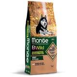 Monge Dog BWild GRAIN FREE беззерновой корм из лосося и гороха для взрослых собак всех пород Salmon & potatoes