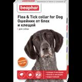 Beaphar Ошейник Flea & Tick collar for Dog от блох и клещей для собак оранжевый