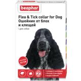 Beaphar Ошейник Flea & Tick collar for Dog от блох и клещей для собак красный