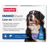 Beaphar Капли IMMO Shield Line-on от паразитов для собак крупных пород, 3 пипетки
