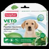 Beaphar Биокапли VETO pure от паразитов для щенков, 3 пипетки