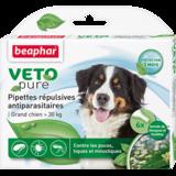 Beaphar Биокапли VETO pure от паразитов для собак крупных пород , 6 пипеток
