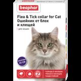 Beaphar Ошейник Flea & Tick collar for Cat от блох и клещей для кошек фиолетовый
