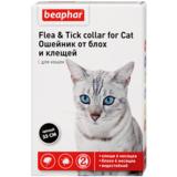 Beaphar Ошейник Flea & Tick collar for Cat от блох и клещей для кошек черный