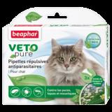 Beaphar Биокапли VETO pure от паразитов для кошек