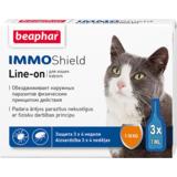Beaphar Капли IMMO Shield Line-on от паразитов для кошек