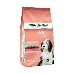 Arden Grange лосось и рис для взрослых собак Adult salmon & rice