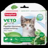 Beaphar Биокапли VETO pure от паразитов для котят