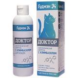 Гудмэн Шампунь ДОКТОР от перхоти и антигрибковый с климбазолом для кошек