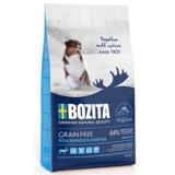 Bozita GRAIN FREE, Reindeer 30/20 БЕЗЗЕРНОВОЕ питание для взрослых собак c нормальным и повышенным уровнем активности с мясом оленя.