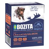 BOZITA Salmon беззерновые консервы, кусочки в желе с ЛОСОСЕМ, для собак